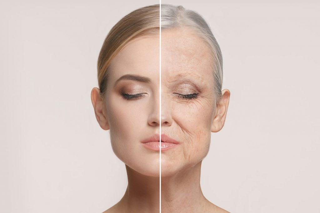 anti-aging woman